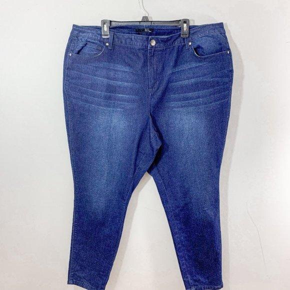 1822 Denim Adrianna Women's Ankle Skinny Jeans